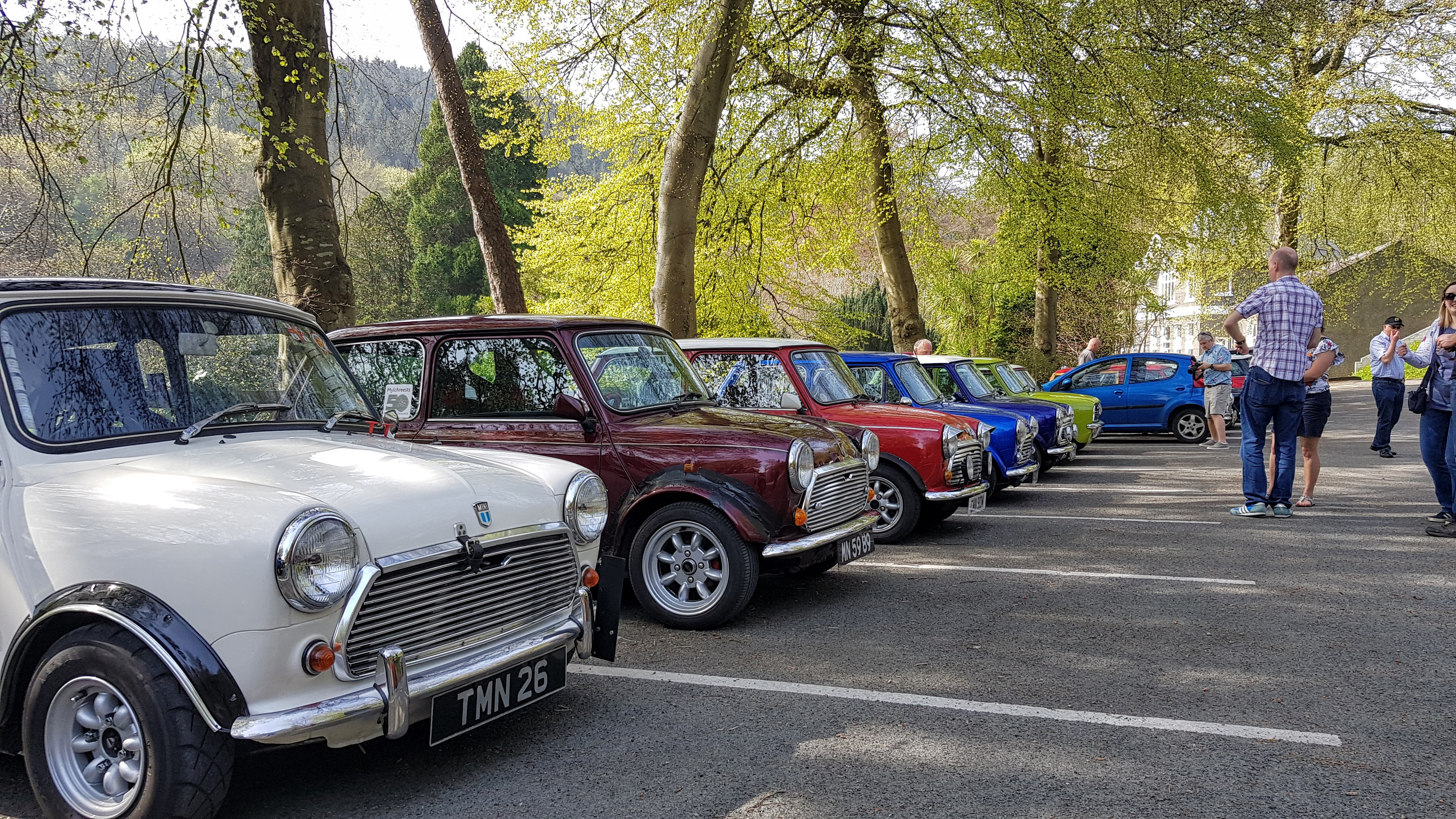 Minis at The Laxey Glen